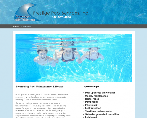 Prestige Pool Services