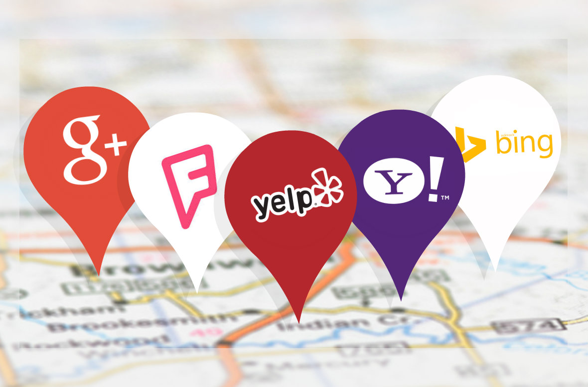 Google Yelp Yahoo Bing Citation