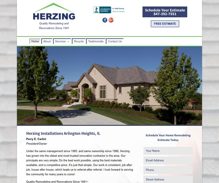 Herzing Installation